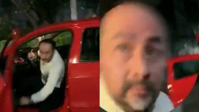 Photo of #Video Chava Reclama A Conductor Por Casi Atropellarla Y Él La Golpea