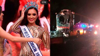 Photo of Miss Michoacán Viajaba En Autobuzaso Sobre La Pista Occidente
