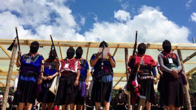 Photo of Mujeres Zapatistas Alzan La Voz, Piden Unirse Para Combatir Violencia Machista