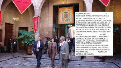 Photo of #Morelia Con Huevos SUEUM Convoca A Boicotear Acto Por Melchor Ocampo