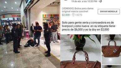 Photo of Cachan A Vato Queriendo Robar Más De 30 Mil Pesos En Ropa De Liverpool