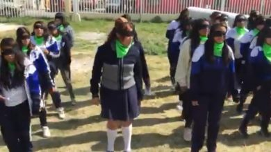 """Photo of #Video Preparatorianas De Ecatepec Se Unieron A Performance """"Un Violador En Tu Camino"""""""
