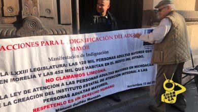 Photo of #Morelia Abuelito Protesta En Congreso, Pide Mayor Atención Para Adultos Mayores