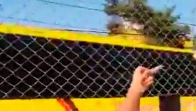 Photo of #Video Afición Americanista Rompe Reja A La Llegada De Bus Del Morelia