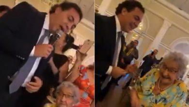 """Photo of #Video Cumplen Sueño De Abuelita, Cristian Castro Le Canta """"Azul"""""""