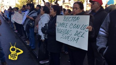 Photo of #Morelia SUEUM Se Manifiesta Para Exigir Pagos Salariales Pendientes