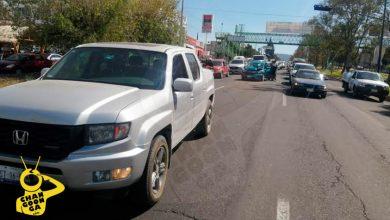 Photo of #Morelia Chocan Auto Y Camioneta En Periférico; Daños Materiales Y Un Lastimado Leve