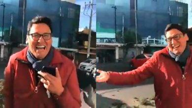 Photo of #Video Reportero Descubre Que Su Auto Es Afectado Por Vientos Durante Live