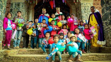 Photo of Más de 2 mil juguetes entregaron DIF Municipal y Reyes Magos en Angahuan y Capacuaro