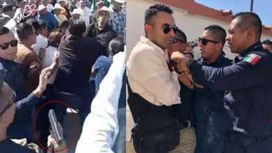 Photo of #Video SÍ Es Elemento De Seguridad Hombre Que Sacó Pistola En Evento De AMLO