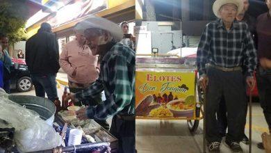 Photo of Pasa En México: Viralizan A Abuelito Vendedor De Elotes Y Lo Ayudan Con Triciclo Nuevo