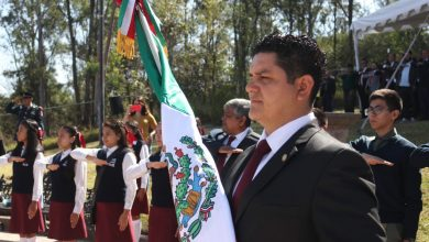 Photo of Asiste Antonio Madriz A Acto Cívico Conmemorativo Del Día De La Bandera