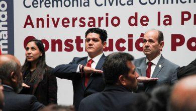 Photo of Asiste Antonio Madriz En Representación Del Legislativo A Aniversario De La Promulgación De La Constitución De 1857 Y 1917