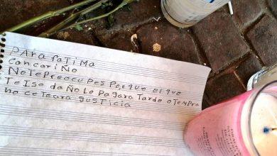 """Photo of """"Se Te Hará Justicia"""" Compañerito De Fátima Le Dedica Carta"""