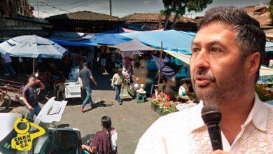 Photo of Chairearán Puestos De Corundas Y Elotes En Plaza Chica De Pátzcuaro: Alcalde