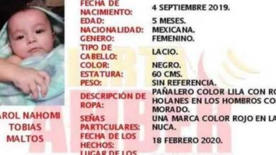 Photo of Hallan Muerta A Bebé De 5 Meses Secuestrada En Saltillo; Estaba En Un Arroyo