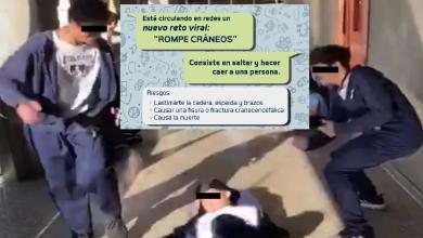 Photo of Policía Cibernética Michoacán Pide No Practicar O Compartir Reto Rompe Cráneos