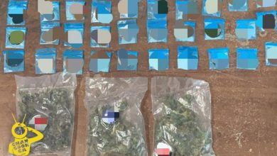 Photo of Polis Michoacán En Recorrido, Aseguran Marihuana Y Metanfetamina En Morelia