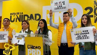 """Photo of Lamenta PRD Michoacán: El Hombre Que Hoy Gobierna México """"Hoy Quiera Callar A Las Mujeres"""""""