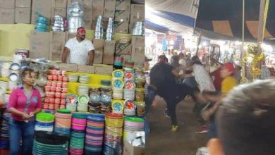 Photo of #Video Se Arman Los Trancazos En Feria Y Vendedor De Cobijas Narra Pelea