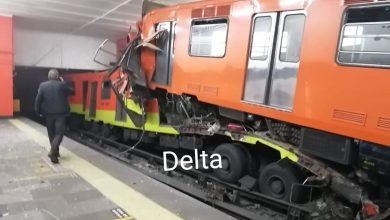 Photo of Chocan Trenes Del Metro Por Alcance Esta Medianoche En CDMX
