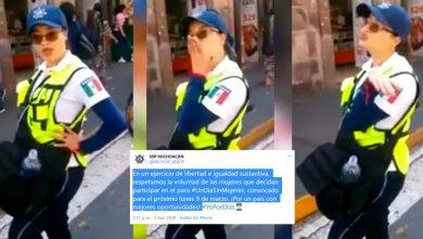 Photo of Policías Michoacanas Podrán Unirse Al Paro Nacional De Mujeres Sin Problema