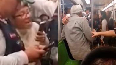 Photo of Abuchean A Chava Por Exigir Que Abuelito Baje De Vagón Exclusivo Del Metro