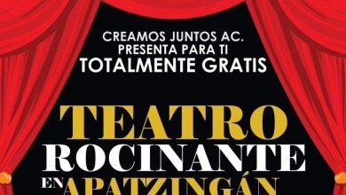 """Photo of #Apatzingán Alcalde Y """"Creamos Juntos"""" Anuncian El """"Teatro Rocinante"""""""