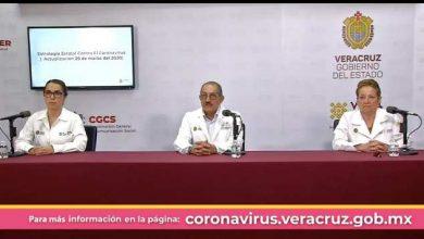 Photo of #Veracruz Autoridades Informan Primera Muerte Por COVID-19