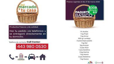 """Photo of A Comprar Carne Y Verduras """"Del Mercado A Tu Casa"""" Ante #Covid-19 En Morelia"""