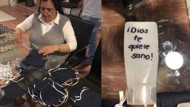 Photo of #Morelia Religiosos Hacen Cubrebocas Y Gel Antibacterial Para Personas Vulnerables Y Sin Hogar