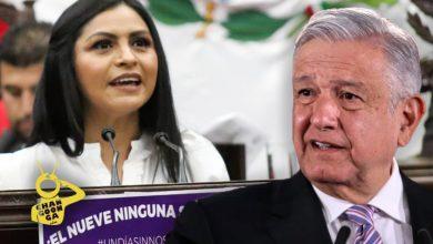 """Photo of #Michoacán Diputada Asegura A AMLO """"No Lo Mueve El 9"""""""