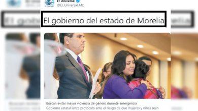 Photo of El Universal Convierte A Morelia En Estado