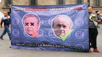 Photo of #CDMX Con Ataúd Se Manifiesta Afición Del Cruz Azul
