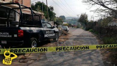 Photo of Hallan Persona Muerta Y Embolsada En Plena Calle, En Uruapan