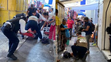 Photo of #Morelia Reportan A Hombre Con Posible Infarto Cerca A Mercado Independencia