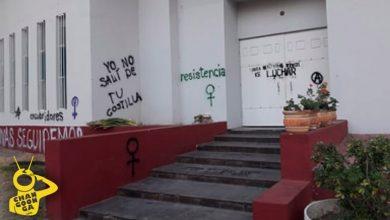 Photo of Iglesia De Morelia También Amaneció Con Pintas De Protestas Feministas