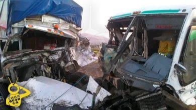 Photo of #Michoacán Choque Entre 3 Unidades Deja 10 Pasajeros Heridos
