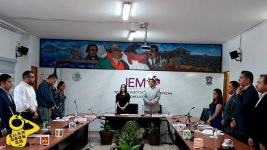 Photo of #Michoacán IEM Guarda Minuto De Silencio Por Asesinato De Diputado Erik Juárez