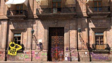 Photo of #Morelia En Menos De 24 Hrs. Palacio De Gobierno Tiene Vidrios Nuevos