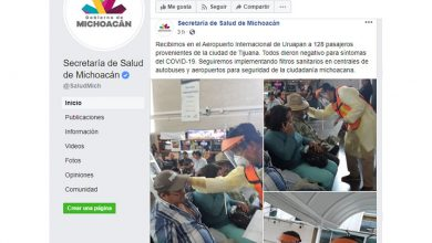 Photo of SSM Revisa A 128 Michoacanos En Aeropuerto Internacional Uruapan, Por Viajar A Turquía