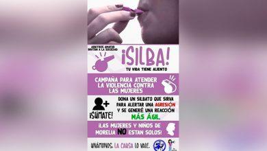 """Photo of ¡Moreliaaa! A Donar Silbatos Vs Violencia De Niños Y Mujeres """"Silba Tu Vida, Tiene Aliento"""""""""""