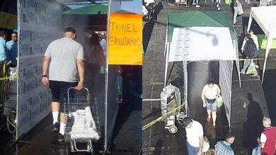 Photo of Clientes De Mercado De Abastos En Guadalajara Son Sanitizados Antes De Entrar