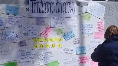 Photo of También En UPN De Uruapan Cuelgan Tendedero Del Acoso Y Denuncian A Hostigadores