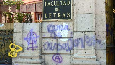 Photo of #Morelia Facultad De Letras Amanece Con Pintas Y Tendedero Del Acoso