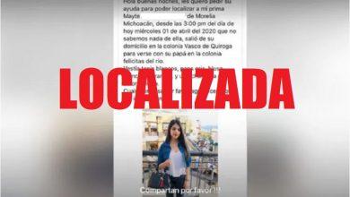 Photo of #Morelia Localizan Sana Y Salva A Mayte