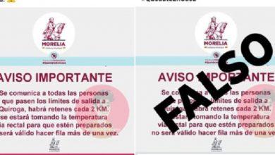 Photo of #NoEsBroma Ayuntamiento De Morelia Aclara: No Meterá Termómetro Rectal A Ciudadanos