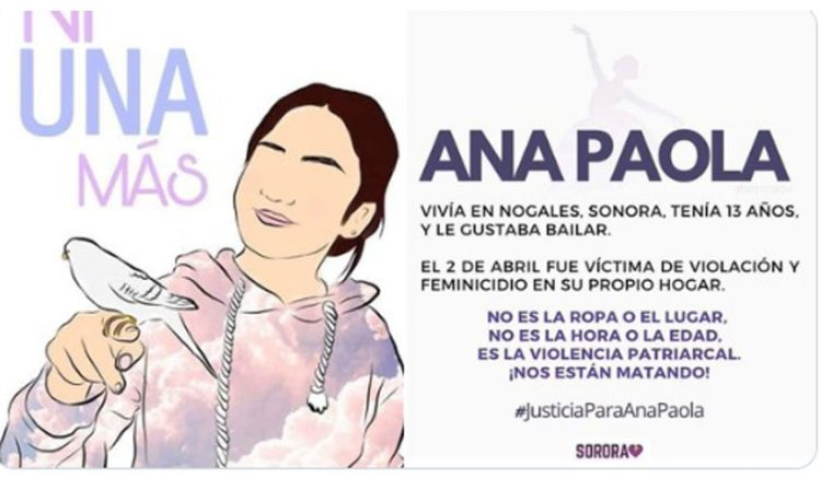 Ana Paola Fue asesinada Dentro de Su Casa
