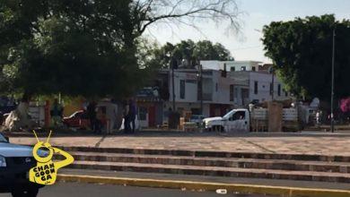 Photo of #Morelia Captan Camioneta Con Madera; Habrían Quitado Casita Del Árbol En Monumento