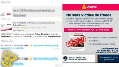 Photo of FALSO Mensaje Que Anuncia Tarjetas De Apoyo Del Presidente Por COVID-19